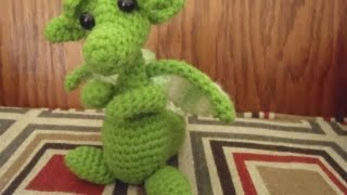 "Crochet Baby Snow Dragon For ""Dummies"""