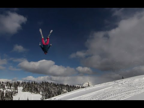 Backcountry Backflips and Big Mountain Skiing with Suz Graham - Bird's Eye View