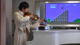 Super Mario on Violin