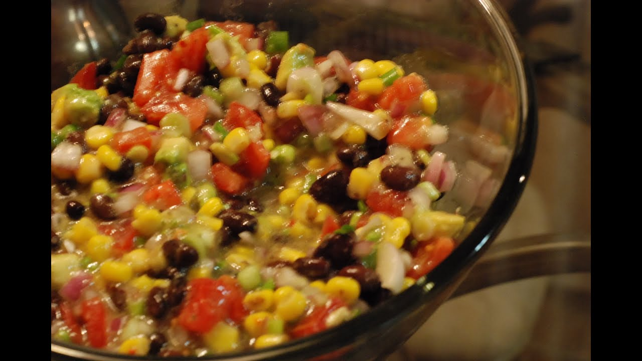 How to make texas caviar aka mexican caviar recipe by for How to prepare caviar