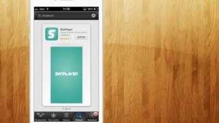 SkyPlayer reproduce peliculas o series online en tu IPhone Ipad 2013