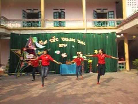 nhảy trống cơm - con heo đất ở trường tiểu học sơn cẩm 1