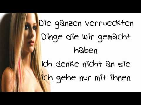 H 236 nh nh trong video avril lavigne wish you were here 252 bersetzung