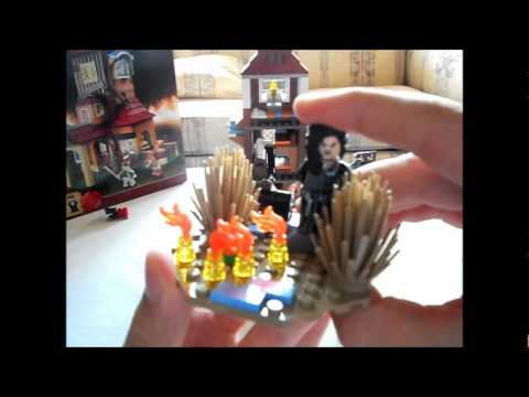 Lego Harry Potter Set (4840) The Burrow Review!