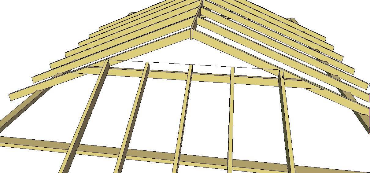 Dutch Gable Roof Method 1 Youtube