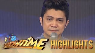 An emotional Vhong Navarro on his comeback!