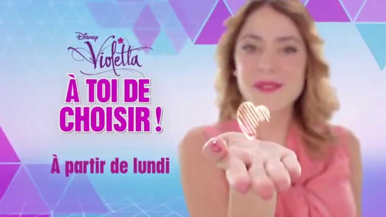 Violetta saison 3 a toi de choisir seulement sur youtube - Photo de violetta saison 3 ...