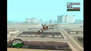 GTA SAN ANDREAS Dos Aviones Ocultos + Trucos Del Juego