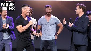 Avengers: Infinity War | Meet The Cast with Robert Downey Jr. & Josh Brolin