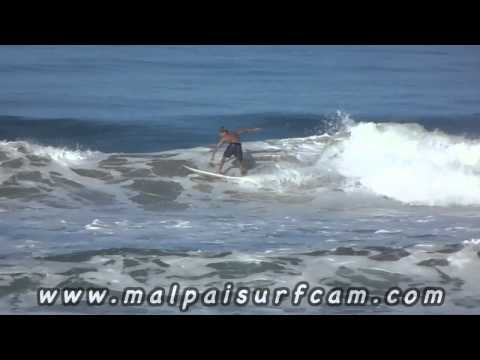 Surf Costa Rica, www malpaisurfcam com 07 09 14 Santa Teresa Mal Pais Surfing