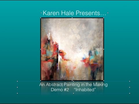 Abstract Painting Demo #2    -