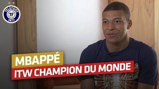 Kylian Mbappé : Son interview après le Mondial en intégralité !