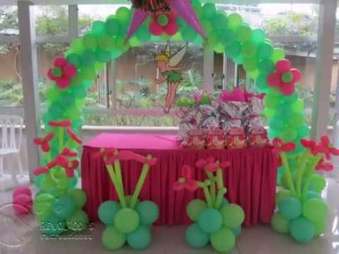 Como hacer piñatas de Tinkerbell 2013 - Imagui