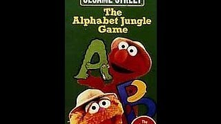 Closing To Sesame Street:The Alphabet Jungle Game 1998 VHS