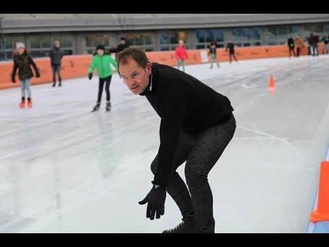 Frank de Boer op de schaats live bij RuuddeWild