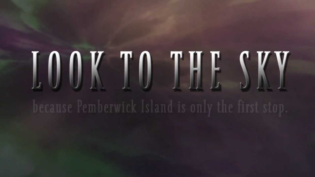 Look to the sky because Pemberwick Island is only the first stop.