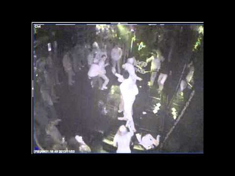 Larry Sanders fight at Milwaukee nightclub