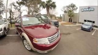Autoline's 2008 Ford Taurus X Eddie Bauer Walk Around Review Test Drive videos