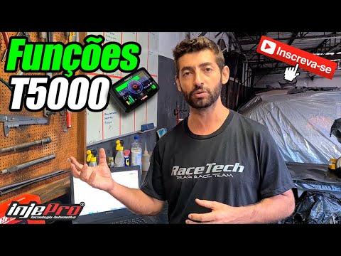 Funções da T5000 - INJEPRO