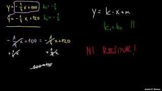 Naloga 1 – Reševanje sistema dveh enačb
