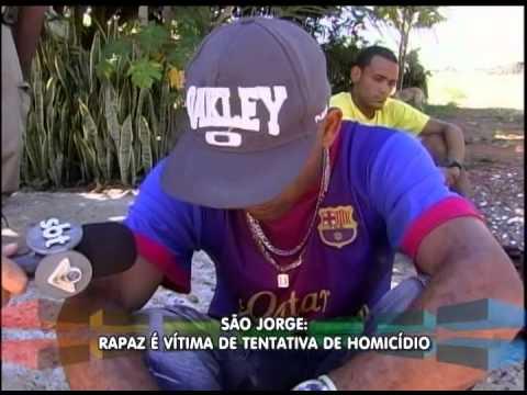 Rapaz é vítima de tentativa de homicídio no São Jorge