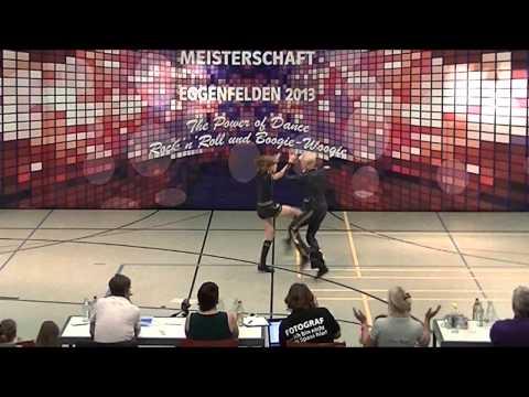 Johanna Wolf & Niklas Bahr - Deutsche Meisterschaft 2013