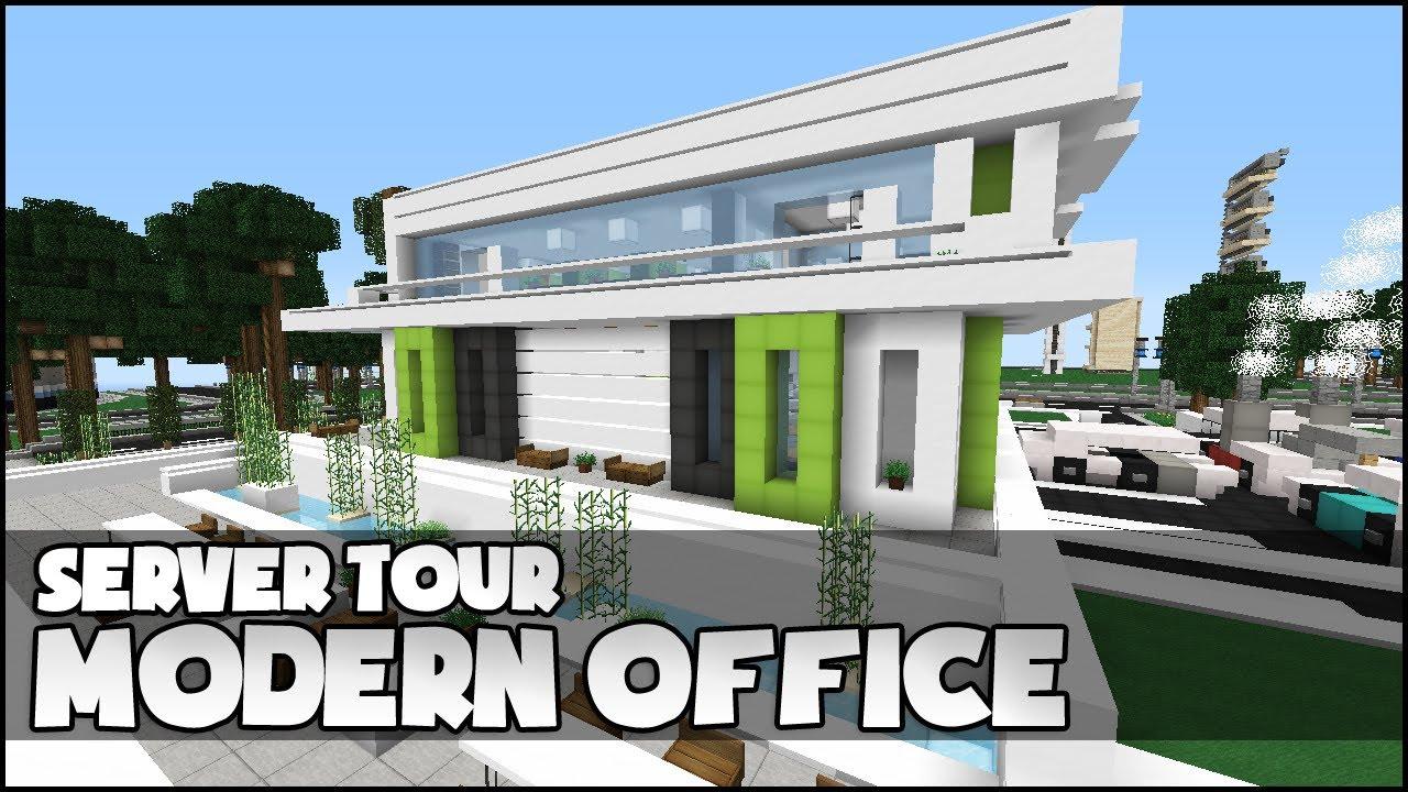 Minecraft Modern Office YouTube