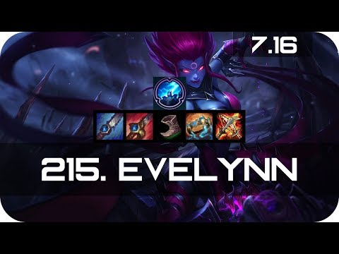 Evelynn Jungle vs Kayn Season 7 s7 Patch 7.16 2017 Gameplay Guide Build Normals