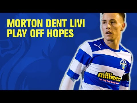 Morton dent Livi play-off hopes
