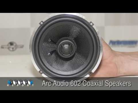 Arc Audio 602 Coaxial Speakers