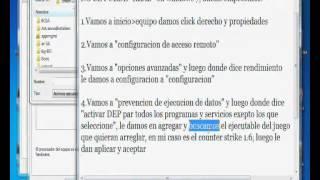 """La Memoria No Se Puede """"read"""" (solucion Para Windows 7"""