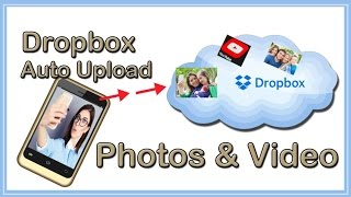 Dropbox Tutorial Auto Upload Video & Photos To Dropbox