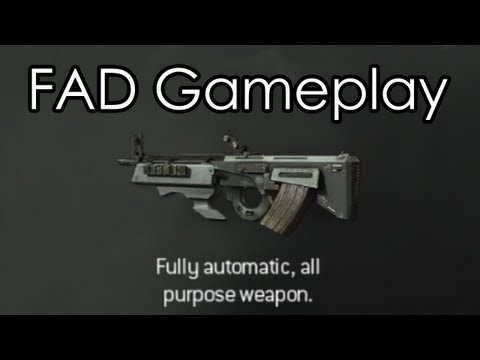 """MODERN WARFARE 3"" - FAD Assault Rifle Gameplay - (Call of Duty MW3 Multiplayer Online)"