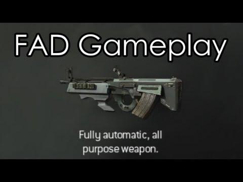 """MODERN WARFARE 3"" - FAD Assault Rifle Gameplay - (Call of Duty MW3 Multiplayer Online)"