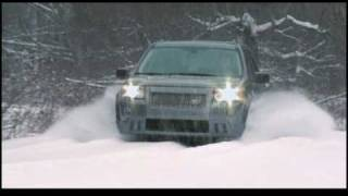 New Land Rover LR2 2009 Snow Driving videos