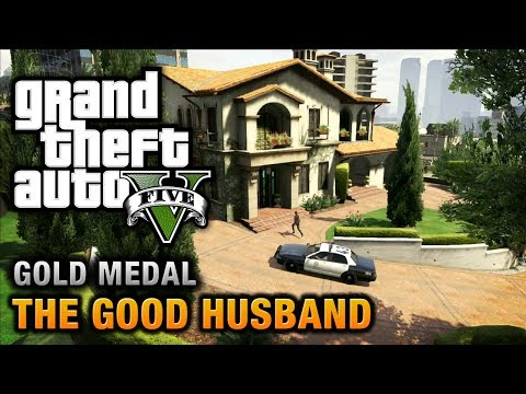 GTA 5 - Mission #10 - The Good Husband [Optional Mission],