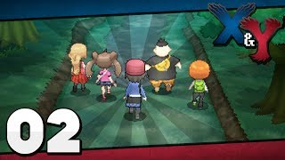 Pokémon X And Y Episode 2 Santalune Forest!