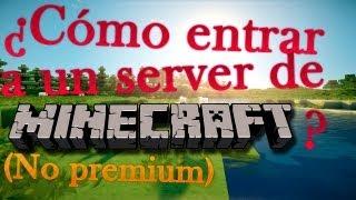 Cómo Entrar Y Registrarse En Un Servidor De Minecraft
