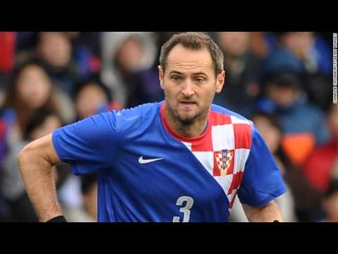 Croatia's Josip Simunic banned from World Cup for 'pro Nazi' chants