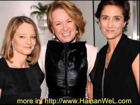 Hollywood actress Jodie Foster married Alexandra Hedison Джоди Фостер женилась Александре Хедисон