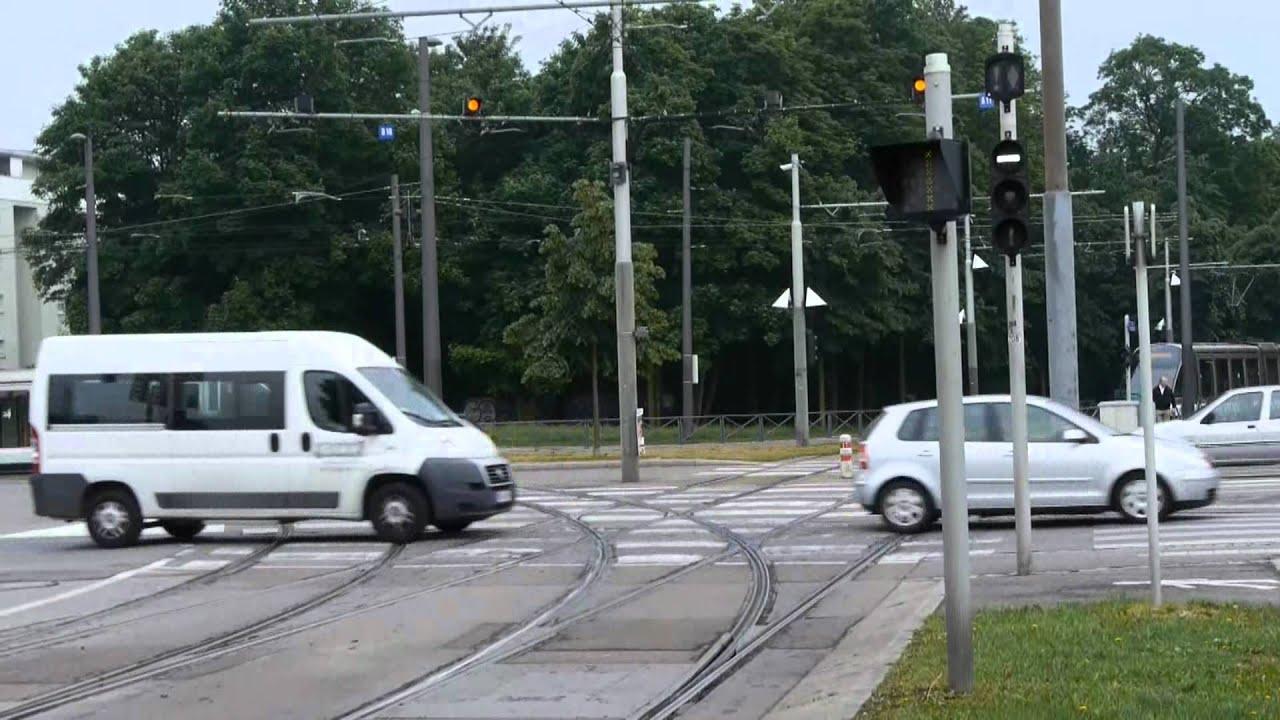 Tram strasbourg 3 vers le parc de l 39 etoile youtube for Parc des expo strasbourg