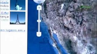 Google Maps Agora Com Mapas Em 3D. Visualização Do Planeta