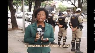 Lojistas da Savassi comemoram redu��o de roubos com sistema de interliga��o com a PM