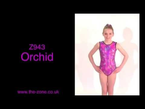 Orchid All-Over Print Sleeveless Leotard