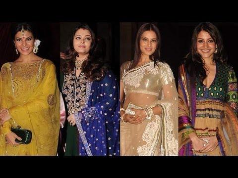 Fashion Fever At Riteish Genelia Wedding: Aishwarya Rai Bachchan, Bipasha Basu, Asin