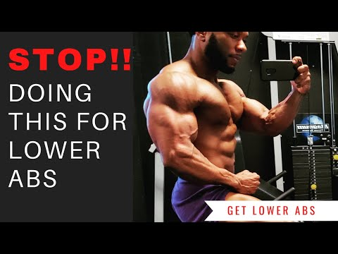 Why Your LOWER ABS Suck?? | Best Way To Target Lower ABS