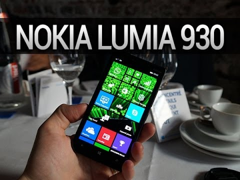 Nokia Lumia 930, prise en main - par Test-Mobile.fr