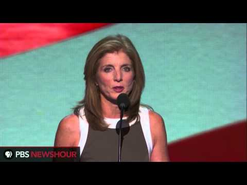Caroline Kennedy Speaks to DNC on Health Care, Women's Health, Voting