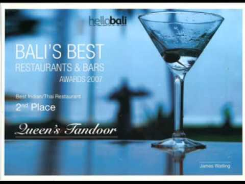 Hello Bali Award 2007 - Queens Tandoor Best Indian Cuisine Bali