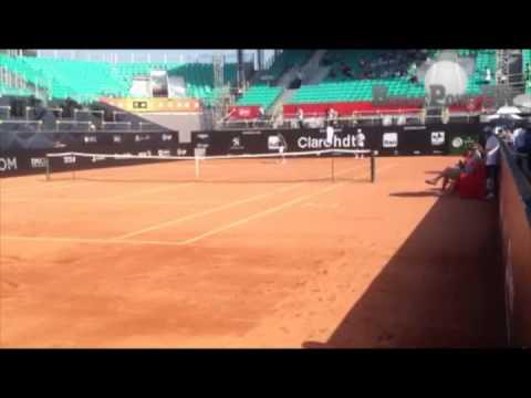 Primeiro Treino de Rafael Nadal no Rio Open 2014 | Break Point